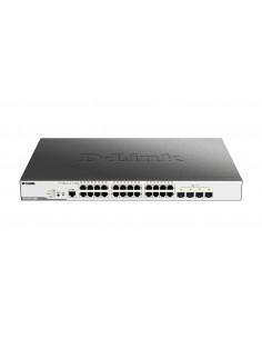 D-Link DGS-3000-28XMP nätverksswitchar hanterad L2 Gigabit Ethernet (10/100/1000) Strömförsörjning via (PoE) stöd 1U Svart D-lin