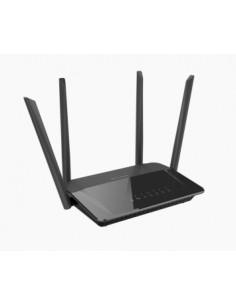 D-Link AC1200 Dual Band wireless router Gigabit Ethernet Dual-band (2.4 GHz / 5 GHz) Black D-link DIR-842 - 1