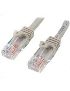 StarTech.com 45PAT2MGR verkkokaapeli Harmaa 2 m Cat5e U/UTP (UTP) Startech 45PAT2MGR - 1