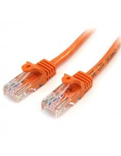 StarTech.com 45PAT3MOR verkkokaapeli Oranssi 3 m Cat5e U/UTP (UTP) Startech 45PAT3MOR - 1