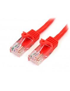 StarTech.com Cat5e patchkabel med hakfria RJ45-kontakter – 3 m, röd Startech 45PAT3MRD - 1