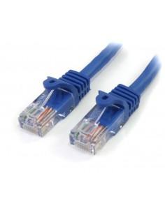 StarTech.com Cat5e Patch Cable with Snagless RJ45 Connectors - 5 m, Blue Startech 45PAT5MBL - 1