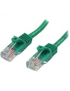 StarTech.com 45PAT5MGN networking cable Green 5 m Cat5e U/UTP (UTP) Startech 45PAT5MGN - 1
