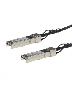 StarTech.com MSA Uncoded Compatible 0.5m 10G SFP+ to Direct Attach Breakout Cable Twinax - 10 GbE Copper DAC Gbps Low Power Star