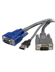 StarTech.com 6 ft Ultra-Thin USB VGA 2-in-1 Startech SVUSBVGA6 - 1