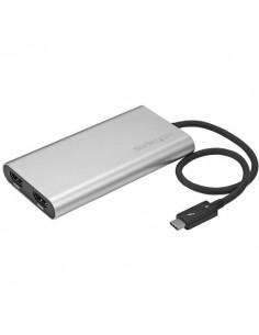 StarTech.com Thunderbolt 3 to Dual HDMI Adapter - 4k 30Hz Windows only Compatible Startech TB32HD2 - 1