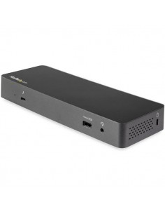 StarTech.com Thunderbolt 3 Dock w/ USB-C Compatibility - Dual Monitor 4K60Hz DisplayPort Laptop Docking Station 60W PD, GbE Star