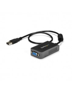 StarTech.com USB2VGAE2 USB grafiikka-adapteri 1600 x 1200 pikseliä Musta Startech USB2VGAE2 - 1