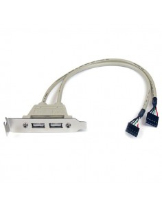 StarTech.com USBPLATELP liitäntäkortti/-sovitin USB 2.0 Sisäinen Startech USBPLATELP - 1