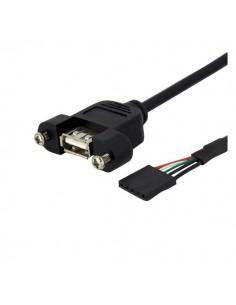 StarTech.com USBPNLAFHD3 cable gender changer IDC USB A Svart Startech USBPNLAFHD3 - 1