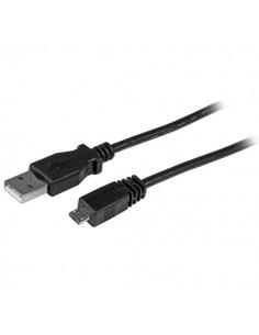 StarTech.com UUSBHAUB1 USB-kaapeli 0.3 m USB 2.0 A Micro-USB B Musta Startech UUSBHAUB1 - 1