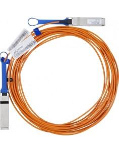 Hewlett Packard Enterprise 15 Meter InfiniBand FDR QSFP V-series Optical Cable InfiniBand-kaapeli m Hp 808722-B26 - 1