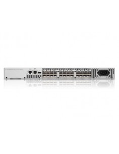 Hewlett Packard Enterprise 8/24 Base (16) Full Fabric Ports Enabled SAN Managed 1U Silver Hp AM868C - 1