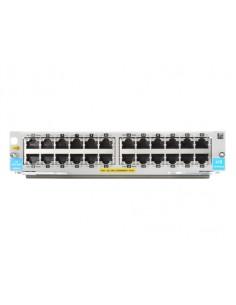 Hewlett Packard Enterprise 24-port 10/100/1000BASE-T PoE+ MACsec v3 zl2 Module verkkokytkinmoduuli Gigabitti Ethernet Hp J9986A