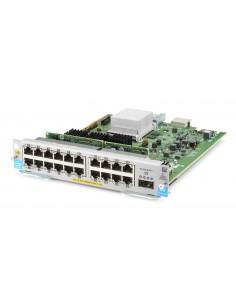 Hewlett Packard Enterprise 20-port 10/100/1000BASE-T PoE+ MACsec / 1-port 40GbE QSFP+ v3 zl2 nätverksswitchmoduler Gigabit Hp J9