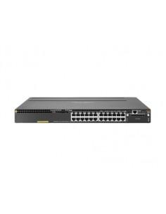 Hewlett Packard Enterprise Aruba 3810M 24G PoE+ 1-slot Switch Hallittu L3 Gigabit Ethernet (10/100/1000) Power over -tuki 1U Hp