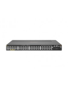 Hewlett Packard Enterprise Aruba 3810M 48G PoE+ 1-slot Switch hanterad L3 Gigabit Ethernet (10/100/1000) Strömförsörjning via Hp