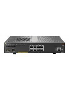 Hewlett Packard Enterprise Aruba 2930F 8G PoE+ 2SFP+ Managed L3 Gigabit Ethernet (10/100/1000) Power over (PoE) 1U Grey Hp JL258