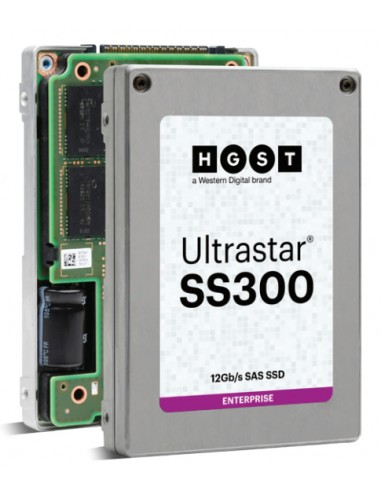 """Western Digital Ultrastar SS300 2.5"""" 3840 GB SAS 3D TLC Western Digital 0B34959 - 1"""