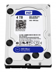 """Western Digital Blue 3.5"""" 4000 GB Serial ATA III Western Digital WD40EZRZ - 1"""