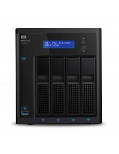 Western Digital My Cloud PR4100 NAS Työpöytä Ethernet LAN Musta N3710 Western Digital WDBNFA0240KBK-EESN - 1