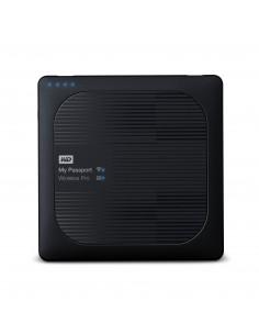 Western Digital My Passport Wireless Pro externa hårddiskar Wi-Fi 4000 GB Svart Western Digital WDBSMT0040BBK-EESN - 1
