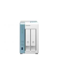 QNAP TS-231K NAS- & lagringsservrar Tower Nätverksansluten (Ethernet) Vit Alpine AL-214 Qnap TS-231K - 1
