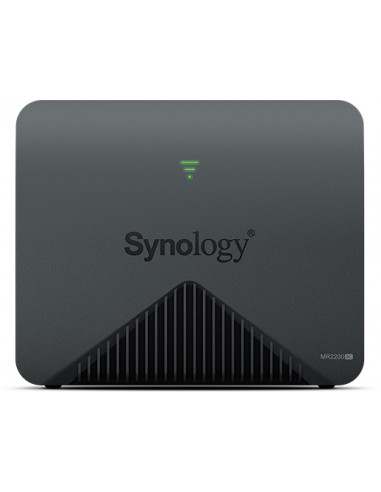 Synology MR2200AC langaton reititin Gigabitti Ethernet Kaksitaajuus (2,4 GHz/5 GHz) 3G 4G Musta Synology MR2200AC - 1