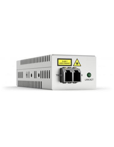Allied Telesis AT-DMC1000/LC-00 mediakonverterare för nätverk 1000 Mbit/s 850 nm Flerläge Grå Allied Telesis AT-DMC1000/LC-00 -