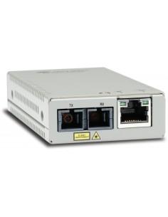 Allied Telesis AT-MMC200/SC-960 verkon mediamuunnin 100 Mbit/s 1310 nm Monitila Harmaa Allied Telesis AT-MMC200/SC-960 - 1