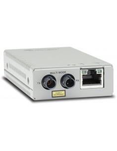 Allied Telesis AT-MMC200/ST-60 mediakonverterare för nätverk 100 Mbit/s 1310 nm Flerläge Silver Allied Telesis AT-MMC200/ST-60 -