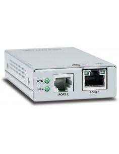 Allied Telesis AT-MMC6005-60 Verkkolähetin ja -vastaanotin Hopea 10. 100. 1000 Mbit/s Allied Telesis AT-MMC6005-60 - 1