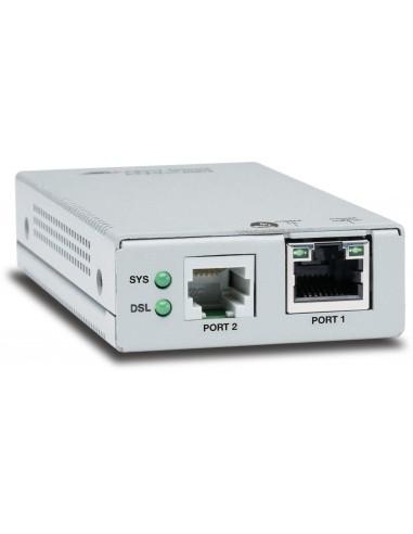 Allied Telesis AT-MMC6005-60 Nätverkssändare och -mottagare Silver 10. 100. 1000 Mbit/s Allied Telesis AT-MMC6005-60 - 1