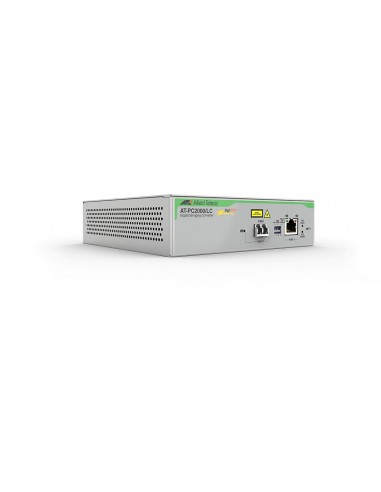 Allied Telesis AT-PC2000/LC-60 network media converter 1000 Mbit/s 850 nm Grey Allied Telesis AT-PC2000/LC-60 - 1