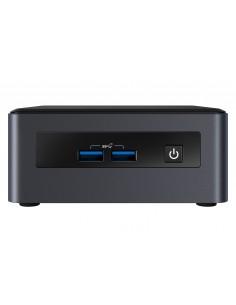 Intel NUC BKNUC8V7PNH datorhölje & moderkort 0,69L storlek PC Svart BGA 1528 i7-8665U 1.9 GHz Intel BKNUC8V7PNH - 1