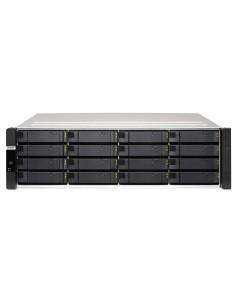 QNAP ES1686dc NAS Teline ( 3U ) Ethernet LAN Musta, Harmaa D-2123IT Qnap ES1686DC-2123IT-64G - 1