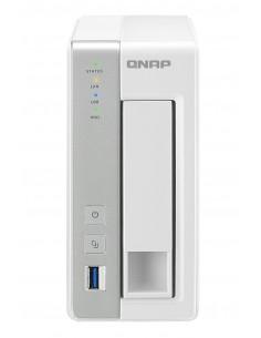 QNAP TS-131P NAS- & lagringsservrar Tower Nätverksansluten (Ethernet) Grå, Vit AL212 Qnap TS-131P - 1