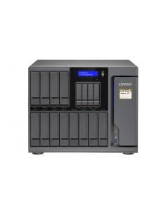 QNAP TS-1677X NAS Tower Nätverksansluten (Ethernet) Svart 1600 Qnap TS-1677X-1600-8G - 1