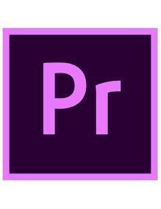 Adobe Premiere Pro 1 lisenssi(t) Uusiminen Monikielinen Adobe 65297632BA02A12 - 1