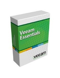 Veeam Backup Essentials Standard for VMware Englanti Veeam E-ESSSTD-VS-P0000-00 - 1