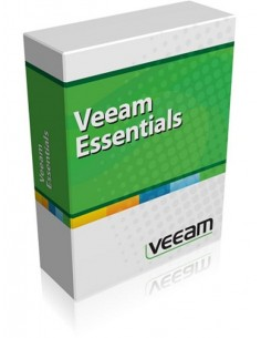 Veeam Essentials Standard 1 license(s) Renewal English Veeam V-ESSSTD-VS-P0PAR-00 - 1