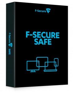 F-SECURE SAFE Täysi lisenssi 1 vuosi/vuosia Monikielinen F-secure FCFXBR1N002E1 - 1