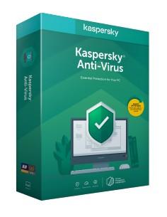Kaspersky Lab Anti-Virus 2020 Peruslisenssi 1 lisenssi(t) Kaspersky KL1171G5AFS-20FFP - 1