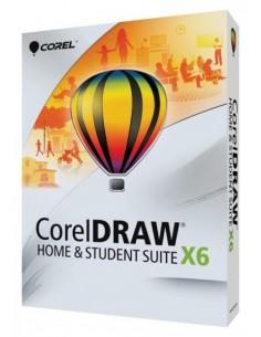 Corel CorelDRAW Home & Student Suite X6 Corel CDHSX6FRNLMBEU - 1