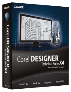 Corel Designer Technical Suite X4, 501-1000u, Multi Corel LCCDTSX4MLPCH - 1