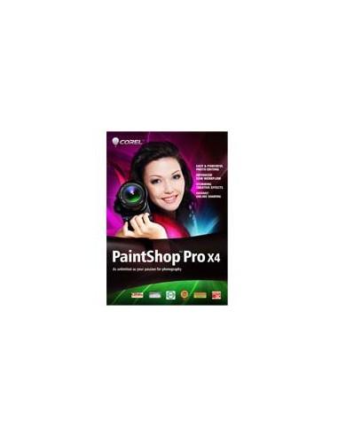 Corel PaintShop Pro X4, WIN, 1-10u, MLNG Corel LCPSPX4MLA - 1