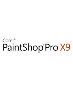 Corel PaintShop Pro X9 Corporate Edition License Single User 1 lisenssi(t) Saksa, Hollanti, Englanti, Espanja, Ranska, Italia Co