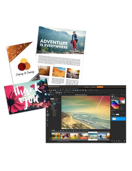 Corel PaintShop Pro X9 Corporate Edition License (5-50) Saksa, Hollanti, Englanti, Espanja, Ranska, Italia Corel LCPSPX9ML2 - 8