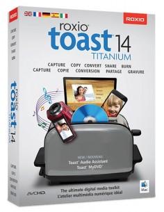 Corel Toast 14 Titanium, ML, 251-500U, Mac Monikielinen Corel LCT14TML3 - 1