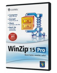 Corel WinZip 15 Pro, 100000+U, EN Corel LCWZ15PROENN - 1